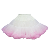HIGH QUALITY Lolita Cosplay  Fluffy TUTU Dream Rainbow A shape Pettiskirt SP130218 - SpreePicky  - 16