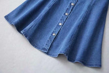 Load image into Gallery viewer, Denim Dresses A line Bodycon Sling Mini Dress SP14809