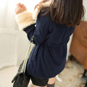 S-2XL 3 Colors Kawaii Warming Hoodie Coat S13095
