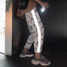 Load image into Gallery viewer, Reflective Harem Gothic Pants SP14719