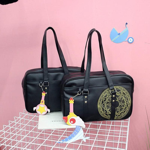 Black Card Captor Sakura School Bag SP14852