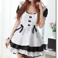 Halloween Cosplay Princess Maid Dress Free Ship SP141219