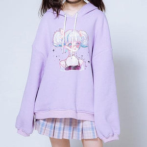 Harajuku Girls Couple Hoodie Sweater SP13335