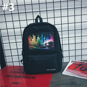 Harajuku Voice Control Light Backpack SP13620