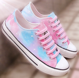 Harajuku Gradation Hand-painted Shoes SP1710945