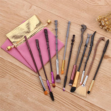 Load image into Gallery viewer, Harry Potter Kawaii Makeup Brushes Set SP13478