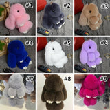High Quality Faux Rabbit Fur Pom Doll Phone/Bag Keychain SP179146