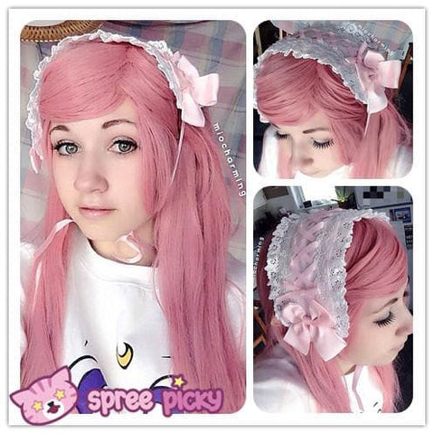 [4 Colors] Lolita Good Match Bow Hair Bang SP141089 - SpreePicky  - 1