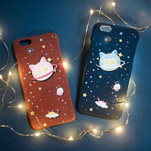 Load image into Gallery viewer, Japanese Kawaii Star Cat Iphone Phone Case SP1711042