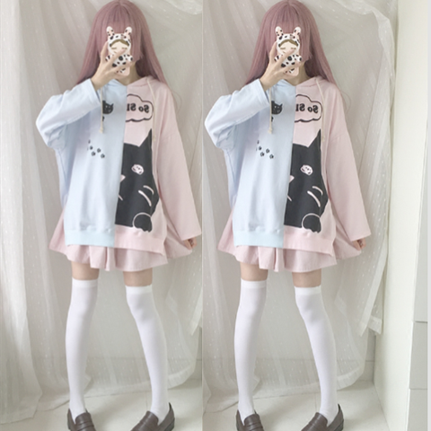 Japanese Kawaii Cartoon Hoodie Pullover SP1710810