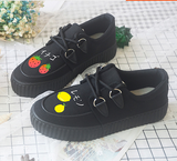 Japanese Kawaii Fruit Hand-painted Canvas Shoes SP1711502
