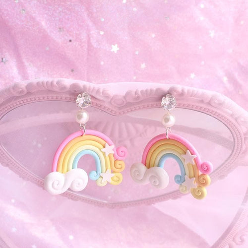 Kawai Rainbow Earrings SP1710940