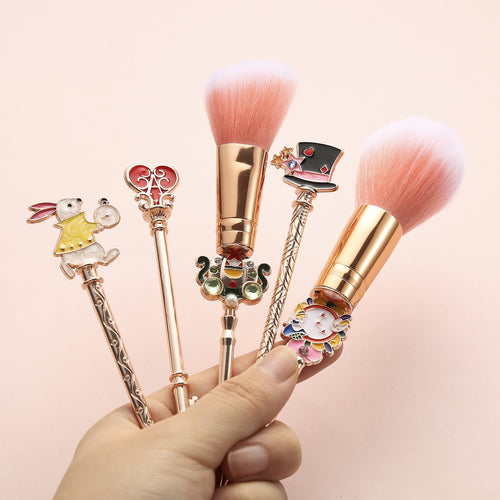 Kawaii Alice Bunny Makeup Brushes Set SP13959