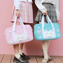 Load image into Gallery viewer, Kawaii Animal Pig Bear Cat Printing Bag SP13366