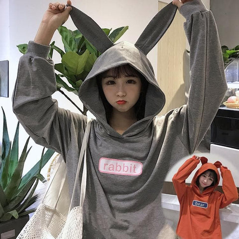 Kawaii Bunny/Bear Ear Hoodie Dress SP1710702
