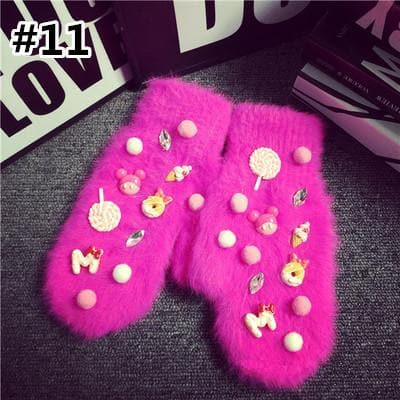 Kawaii Cartoon Harajuku Warming Gloves SP1710980