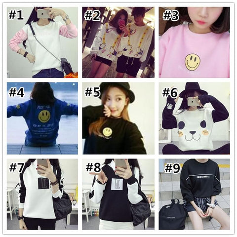 Kawaii Cartoon Student Sweatshirt SP1710965