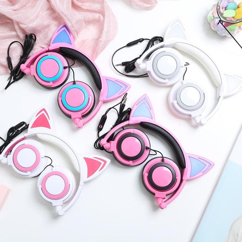 Kawaii Cat Ears Headphones SP1710766