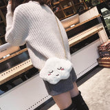 Kawaii Cloud Plush Shoulder Bag SP1811995