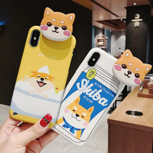 Load image into Gallery viewer, Kawaii Corgi Iphone Case SP13435