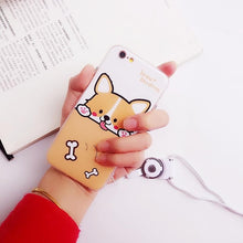 Load image into Gallery viewer, Kawaii Corgi Phone Case/Screen Protection SP1711588