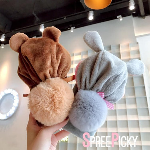 Kawaii Fluffy Hat OPPO Phone Case SP1811629
