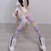 Load image into Gallery viewer, Kawaii Gam Home Long Socks SP13610