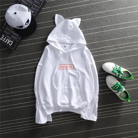 Kawaii Meow Kitty Ear Hoodie Jumper SP1710727