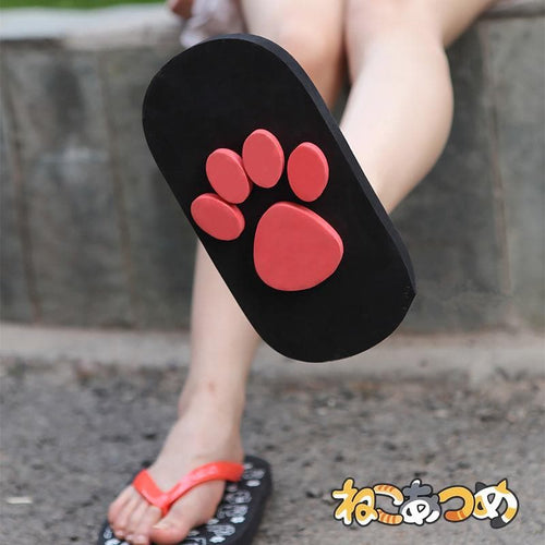 Kawaii Neko Atsume Paws Sandals SP1710560