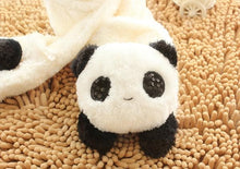 Load image into Gallery viewer, Kawaii Panda Plush Scarf SP1711560
