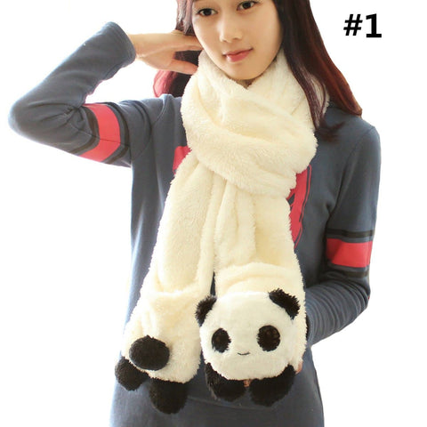 Kawaii Panda Plush Scarf SP1711560
