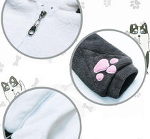 Load image into Gallery viewer, Kawaii Plush Husky Hoodie Coat SP13537