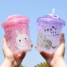 Load image into Gallery viewer, Kawaii Printed Juice Cup SP13798