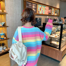 Load image into Gallery viewer, Kawaii Rainbow Pullover Jumper SP14201