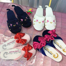 Load image into Gallery viewer, Kawaii Sailor Moon Slippers S13064