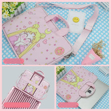 Load image into Gallery viewer, Kawaii Sailor Moon Usage Strawberry Laptop Bag SP14053 - SpreePicky