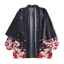 Load image into Gallery viewer, Kawaii Sakura Fox Kimono Coat SP14084