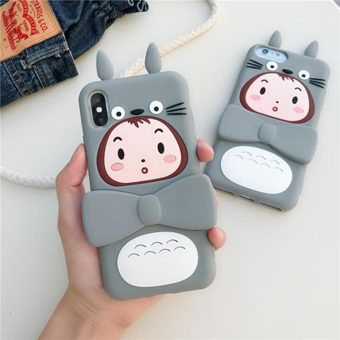 Kawaii Totoro Girl Phone Case SP13763