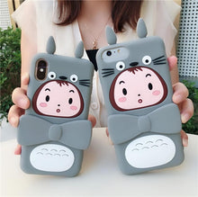 Load image into Gallery viewer, Kawaii Totoro Girl Phone Case SP13763