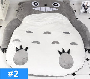Kawaii Totoro Velvet Sleeping Mat Bed SP13314