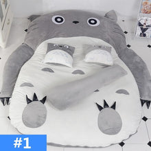 Load image into Gallery viewer, Kawaii Totoro Velvet Sleeping Mat Bed SP13314
