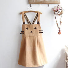 Load image into Gallery viewer, Kawii Cat Suspender Dress SP1811698