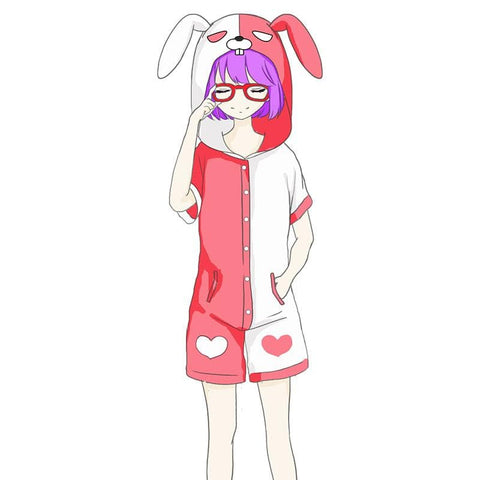 King of Glory Angela Rabbit Cosplay Pajamas SP1710574