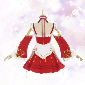 League of Legends Ahri Cosplay Costume SP13249