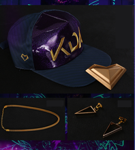 Load image into Gallery viewer, {Reservation} League of Legends Akali (K/DA Skin) Cosplay Costume S13151