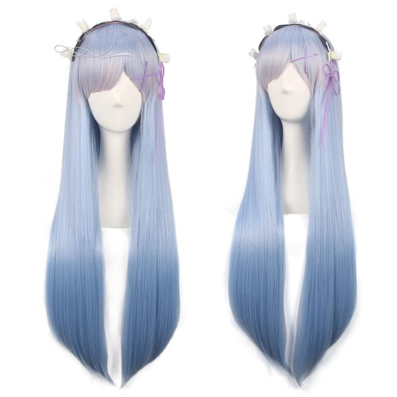 Life In A Different World From Zero Rem/Ram Long Wig SP1711038