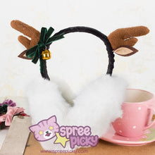 Load image into Gallery viewer, Little Deer Beret Hat/Earmuffs/Necklace SP154558