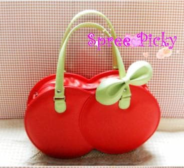Lolita Lovely Cherry Hand Bag SP140372 - SpreePicky  - 1