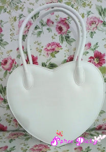 Lolita Lovely Double Sides Hearts Hand Bag SP140338 - SpreePicky  - 3