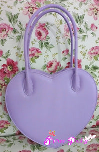 Lolita Lovely Double Sides Hearts Hand Bag SP140338 - SpreePicky  - 5